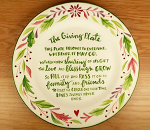 Brentwood The Giving Plate