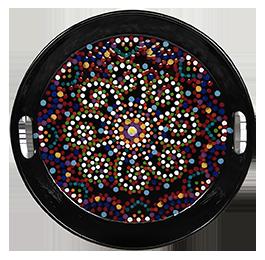 Brentwood Mosaic Mandala Tray